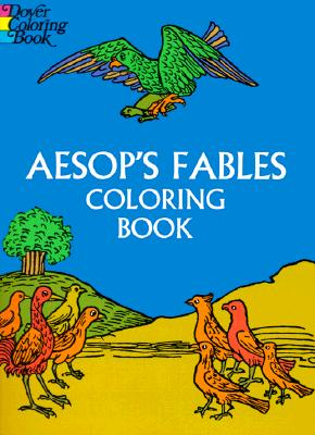 Aesop's Fables Coloring Book (Paperback or Softback): Aesop