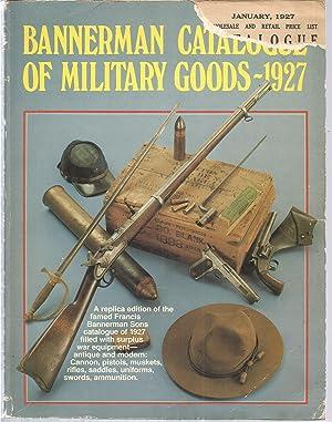 Bannerman Catalogue of Military Goods 1927 (Replica