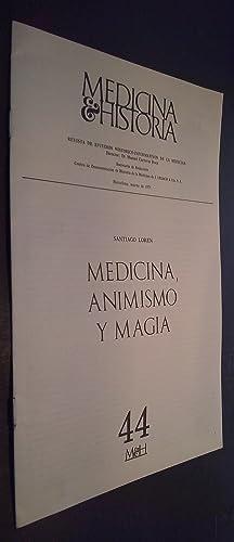 Medicina e Historia. Revista de Estudios Histórico: LORÉN, Santiago: