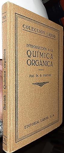 Introducción a la Química Orgánica: BAVINK, B.: