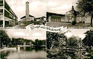 Postkarte Carte Postale 73649862 Wickrath Kamp-Lintfort Pfarrkirche
