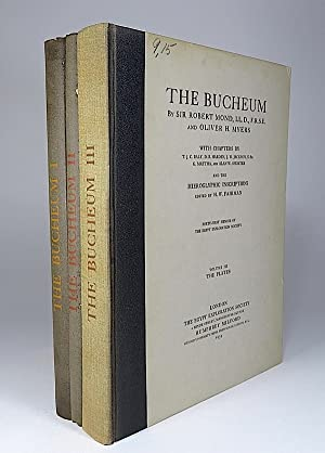 The Bucheum. I. The History and Archaeology: Mond, Robert, Oliver