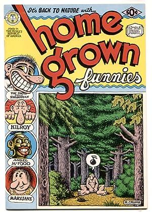 Home Grown Funnies #1 1971- 2nd print