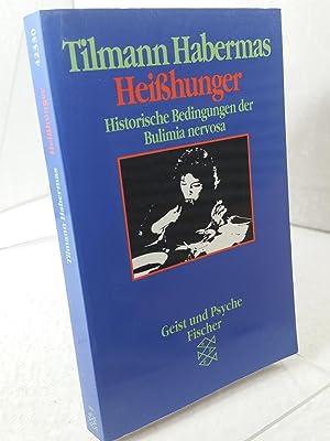 Bild des Verkäufers für Heisshunger : historische Bedingungen der Bulimia nervosa Fischer ; 42330 : Geist und Psyche zum Verkauf von EuropaBuch Antiquariat & Buchhandel