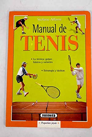 Imagen del vendedor de Manual de tenis a la venta por Alcaná Libros