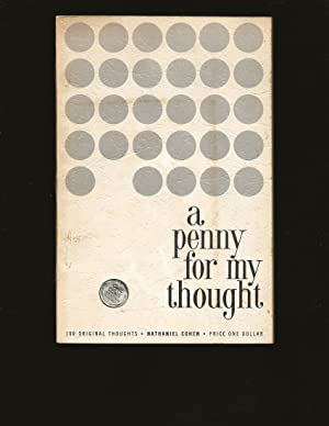A Penny For My Thought (Signed and Inscribed to Theodore Bikel)