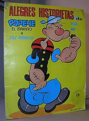 ALEGRES HISTORIETAS DE POPEYE EL MARINO Y: Album de cromos