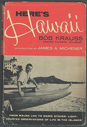 Here's Hawaii: Krauss, Bob; intro.