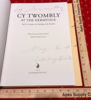 Cy Twombly at the Hermitage fifty years: Julie Sylvester