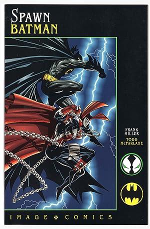 Batman-Spawn: War Devil. Spawn-Batman. (Set of Two): Moench, Doug; Dixon,