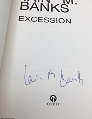 Excession (Signed 1st edition): Banks, Iain M.