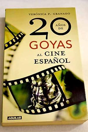 20 años de Goyas al cine español: Granado, Verónica P.
