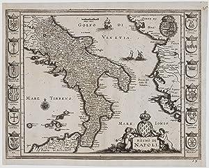 Regno di Napoli.: MERIAN, Matthaus.