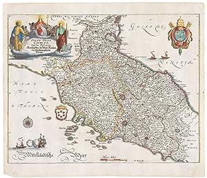 Stato della Chiesa Con la Toscana.: MERIAN, Matthaus.