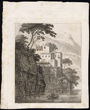 32 Antique Master Prints-COLLECTION-MOUNTAIN-SWITZERLAND-PROOFS-Hess-1780