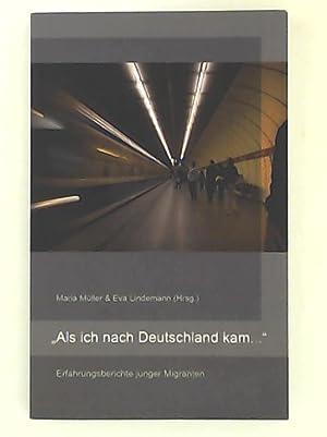"""Bild des Verkäufers für Als ich nach Deutschland kam ."""" Erfahrungsberichte junger Migranten zum Verkauf von Leserstrahl  (Preise inkl. MwSt.)"""