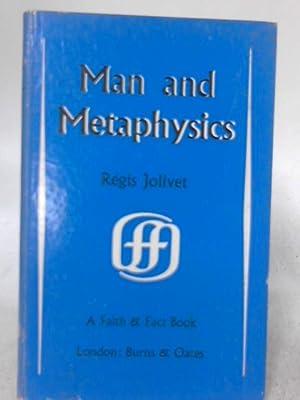 Man and Metaphysics: Regis Jolivet