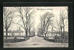 Ansichtskarte Wickrath, Ansicht vom Kgl. Gestüt