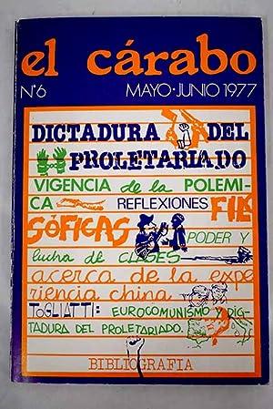 El Cárabo: revista de ciencias sociales, número