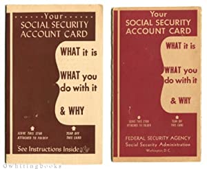 Social Security Account Card Brochure