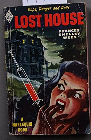 LOST HOUSE (book #2 in the Vinatage Harlequin Paperback Series; HYPO Needle cover)