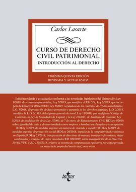 CURSO DE DERECHO CIVIL PATRIMONIAL: LASARTE, CARLOS