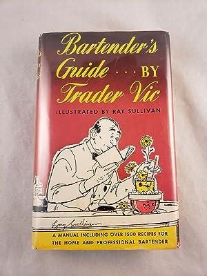 1948 Bartender's Guide by Trader Vic: Trader Vic