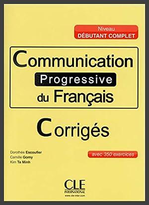 Communication progressive du français - Corrigés
