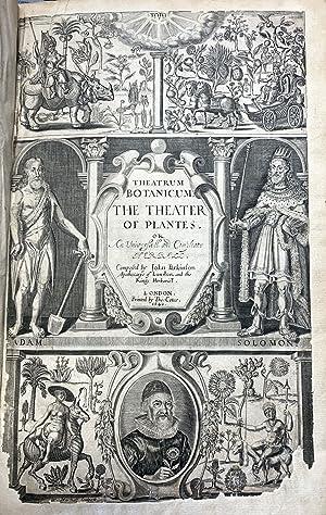 Theatrum botanicum. The theater of plantes, or: PARKINSON, John
