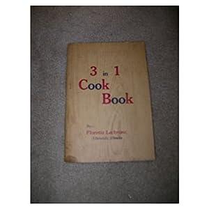 Imagen del vendedor de 3 in 1 Cook Book (Paperback) a la venta por InventoryMasters