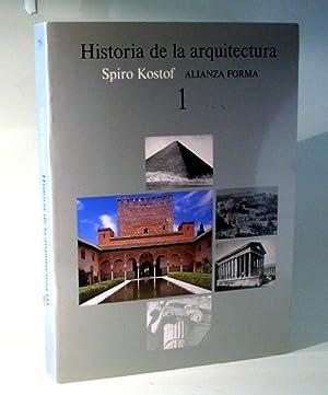 Historia de la arquitectura 1. Un lugar: Kostof, Spiro. Versión