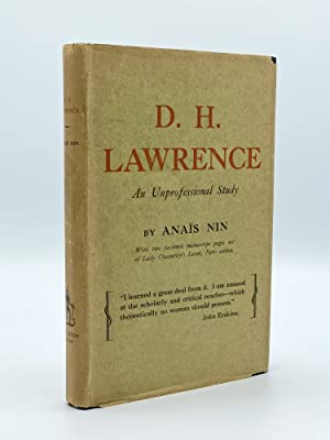 D. H. Lawrence: An Unprofessional Study