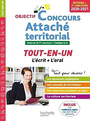 objectif concours - attaché territorial - concours: Gonnin, Gwenael