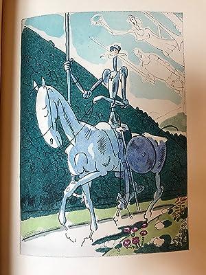 Image du vendeur pour L Ingénieux hidalgo Don Quichotte de la Manche. Traduction Louis Viardot. Préface Miguel de Unamuno. Dessins de Gus BOFA mis en vente par LA CARTOUCHE