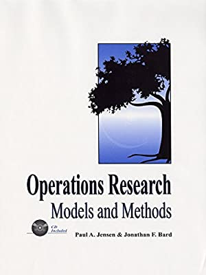 """Operations Research Models and Methods: Jensen, Paul A."""","""