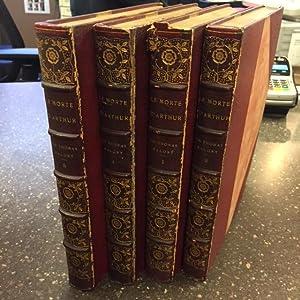 LE MORTE D'ARTHUR [FOUR VOLUMES]: Malory, Sir Thomas