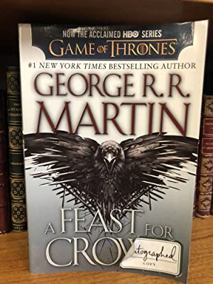 A FEAST FOR CROWS [SIGNED]: Martin, George R.