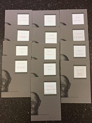 THE PRINTED HEAD - SERIES I, SIGNED SET