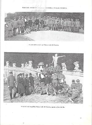 Immagine del venditore per Nostri feriti nel Parco di Caserta / La Cina ringiovanita. Stampa 1912 venduto da libreria biblos