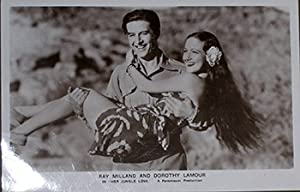 Ray Milland and Dorothy Lamour in