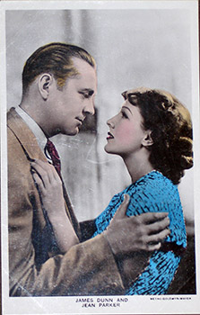 James Dunn and Jean Parker. (Scene from the motion picture