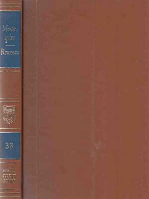 Montesquieu. Rousseau. Great Books of the Western: Montesquieu, Charles de
