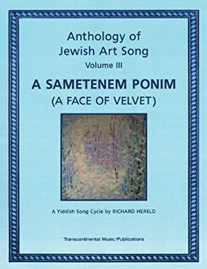 Anthology of Jewish Art Song, Vol. 3: