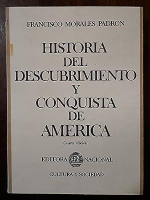 Historia del descubrimiento y conquista de America: Morales Padron, Francisco