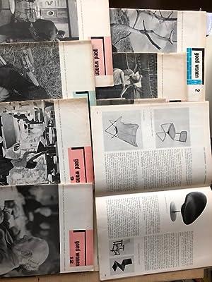 Jaargang. INCOMPLETE Negende Jrg. 1956. Maandblad Voor: Goed Wonen. 1956.