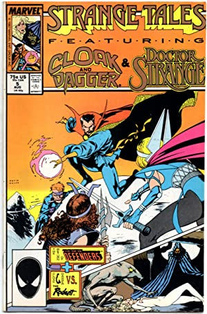 Strange Tales #5 August 1987 (Vol: 2) - Featuring Cloak and Dagger & Doctor Strange.