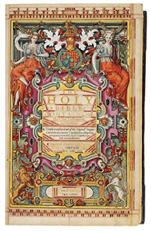 1616 Illuminated King James Bible: First Small