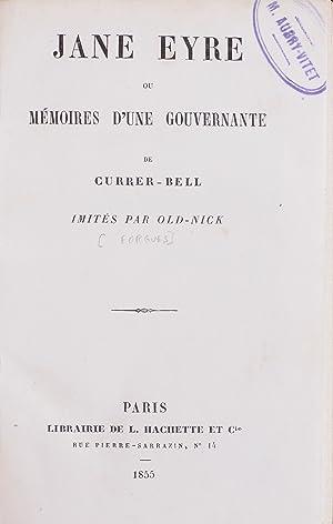 Jane Eyre ou les mémoires d'une gouvernante: BRONTE, Charlotte).