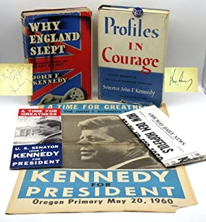 Profiles in Courage and Why England Slept;: John F. Kennedy