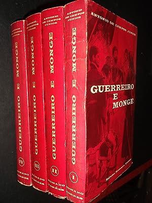 Guerreiro e Monge-4 Volumes-Completo: Junior (António Campos)